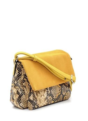Derimod Kadın Çanta (H1930-1) Casual Sarı